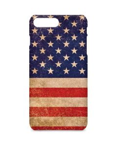 Distressed American Flag iPhone 8 Plus Lite Case