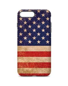 Distressed American Flag iPhone 8 Plus Pro Case