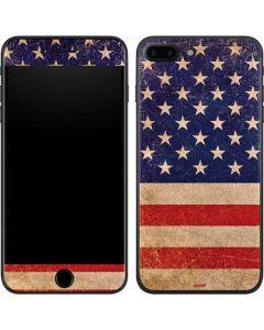 Distressed American Flag iPhone 8 Plus Skin
