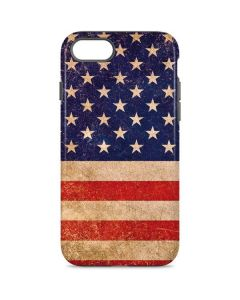 Distressed American Flag iPhone 8 Pro Case