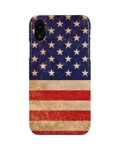 Distressed American Flag iPhone XR Lite Case