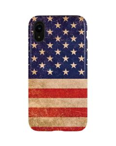Distressed American Flag iPhone XR Pro Case