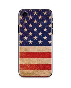 Distressed American Flag iPhone XR Skin