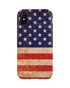Distressed American Flag iPhone XS Max Pro Case