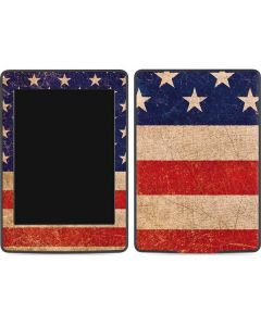 Distressed American Flag Amazon Kindle Skin