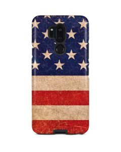 Distressed American Flag LG G7 ThinQ Pro Case