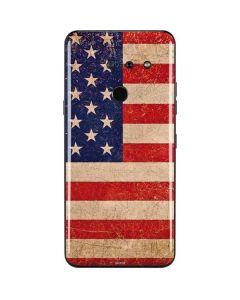 Distressed American Flag LG G8 ThinQ Skin