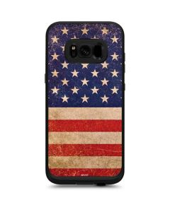 Distressed American Flag LifeProof Fre Galaxy Skin