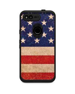 Distressed American Flag LifeProof Fre Google Skin