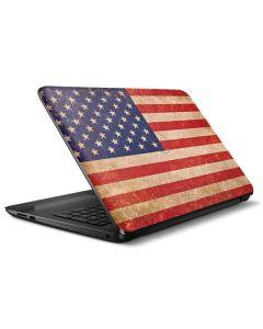Distressed American Flag HP Notebook Skin