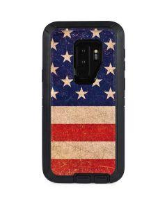 Distressed American Flag Otterbox Defender Galaxy Skin