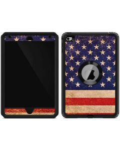 Distressed American Flag Otterbox Defender iPad Skin