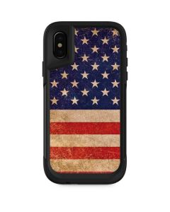 Distressed American Flag Otterbox Pursuit iPhone Skin