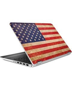 Distressed American Flag HP Pavilion Skin