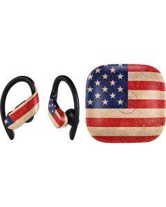 Distressed American Flag PowerBeats Pro Skin