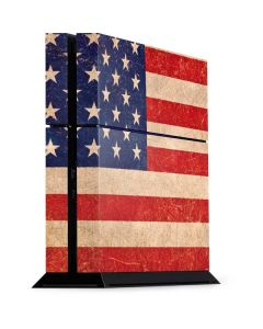Distressed American Flag PS4 Console Skin