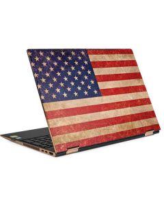 Distressed American Flag HP Spectre Skin