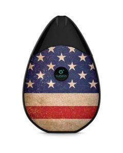 Distressed American Flag Suorin Drop Vape Skin