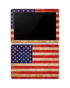 Distressed American Flag Surface Go Skin
