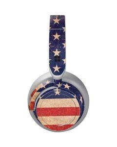 Distressed American Flag Surface Headphones Skin