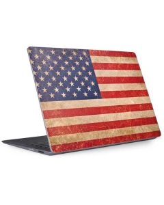Distressed American Flag Surface Laptop 2 Skin