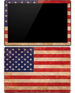 Distressed American Flag Surface Pro 4 Skin