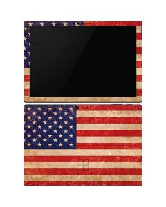 Distressed American Flag Surface Pro 6 Skin