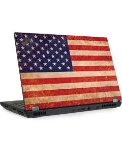 Distressed American Flag Lenovo ThinkPad Skin