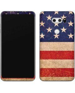 Distressed American Flag V30 Skin