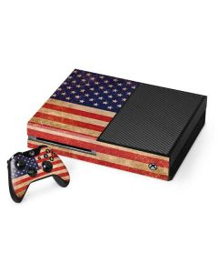 Distressed American Flag Xbox One Console and Controller Bundle Skin