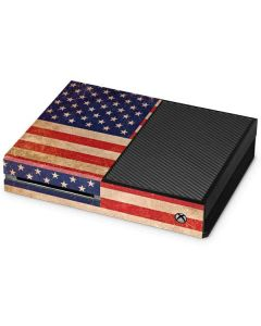 Distressed American Flag Xbox One Console Skin