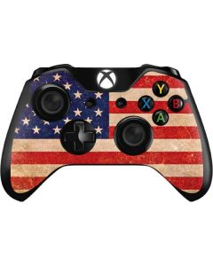 Distressed American Flag Xbox One Controller Skin