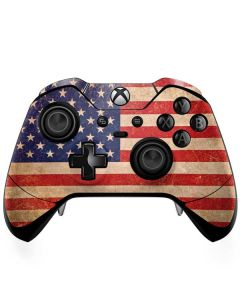 Distressed American Flag Xbox One Elite Controller Skin