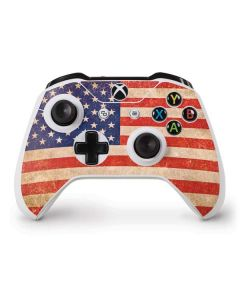 Distressed American Flag Xbox One S Controller Skin