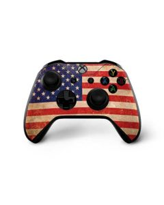 Distressed American Flag Xbox One X Controller Skin