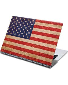 Distressed American Flag Yoga 910 2-in-1 14in Touch-Screen Skin