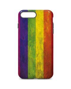 Distressed Rainbow Flag iPhone 8 Plus Pro Case