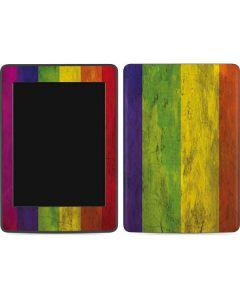 Distressed Rainbow Flag Amazon Kindle Skin