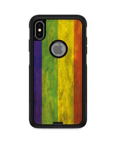 Distressed Rainbow Flag Otterbox Commuter iPhone Skin