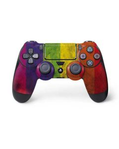 Distressed Rainbow Flag PS4 Controller Skin