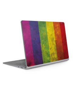 Distressed Rainbow Flag Surface Book 2 13.5in Skin