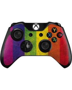 Distressed Rainbow Flag Xbox One Controller Skin