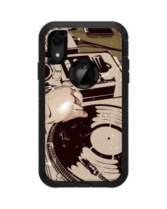 DJ Spinning Otterbox Defender iPhone Skin