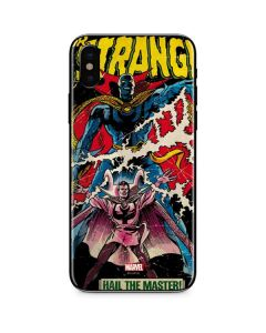 Doctor Strange Hail The Master iPhone XS Skin
