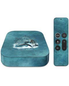 Dolphin Celtic Knot Apple TV Skin