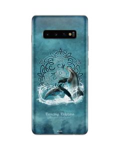 Dolphin Celtic Knot Galaxy S10 Plus Skin
