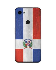 Dominican Republic Flag Distressed Google Pixel 3a Skin