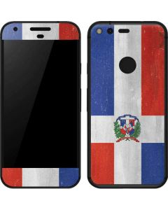 Dominican Republic Flag Distressed Google Pixel Skin