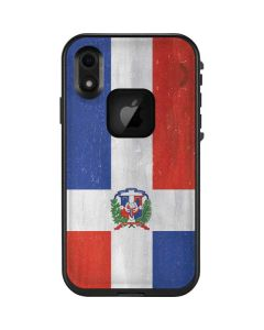 Dominican Republic Flag Distressed LifeProof Fre iPhone Skin