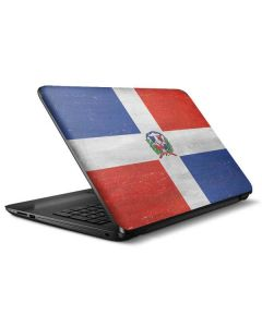 Dominican Republic Flag Distressed HP Notebook Skin